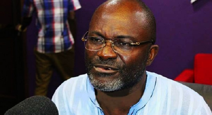 Member of Parliament (MP) for Assin Central the Honourable Kennedy Agyapong
