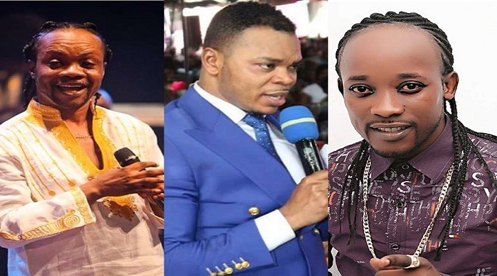 Daddy Lumba, Bishop Angel Obinim, and Anokye Supremo formerly DL Jnr