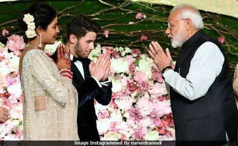 Indian star priyankachopra married to nickjonas , he's a Christian
