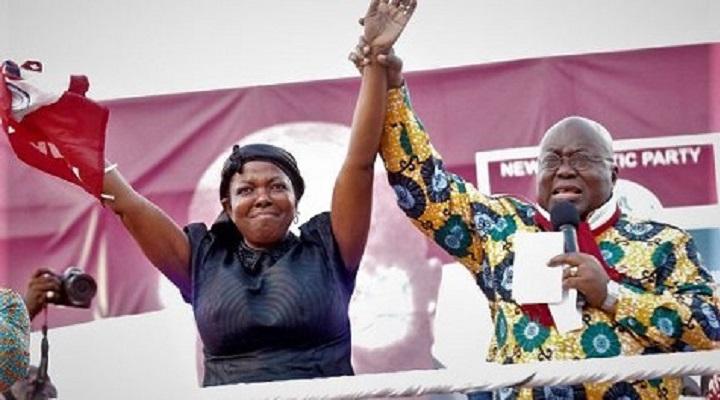 Lydia Alhassan got endorsed by President Akufo-Addo