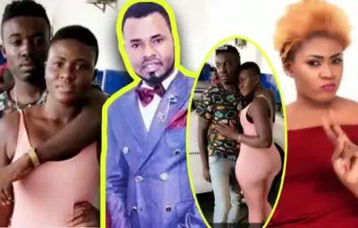 Ernest Opoku Girlfriend Yaa Mary and Ernest Opoku Ex-Girlfriend Nayas 1