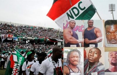 NDC office shooting at Kumasi, 12 declared wanted