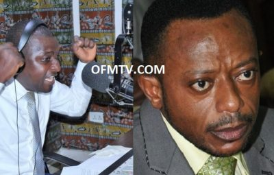 Radio Presenter Mugabe Salifu Maase And Rev. Dr. Isaac Owusu Bempah