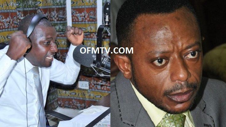 Radio Presenter Mugabe Salifu Maase And Rev. Dr. Isaac Owusu Bempah