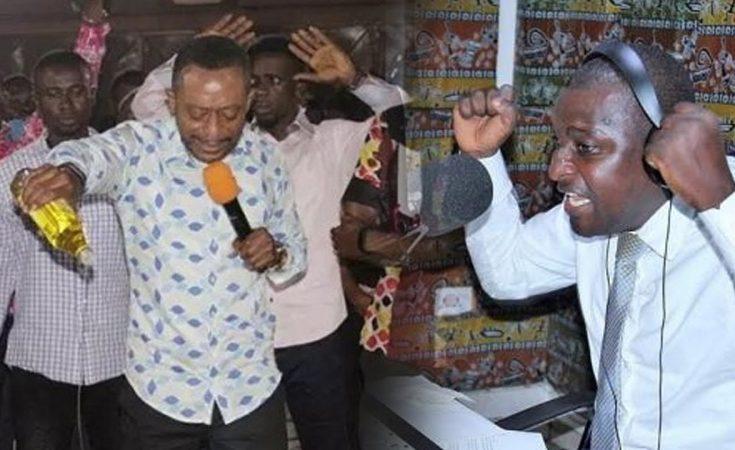 Rev. Dr. Isaac Owusu Bempah And Radio Presenter Mugabe Salifu Maase