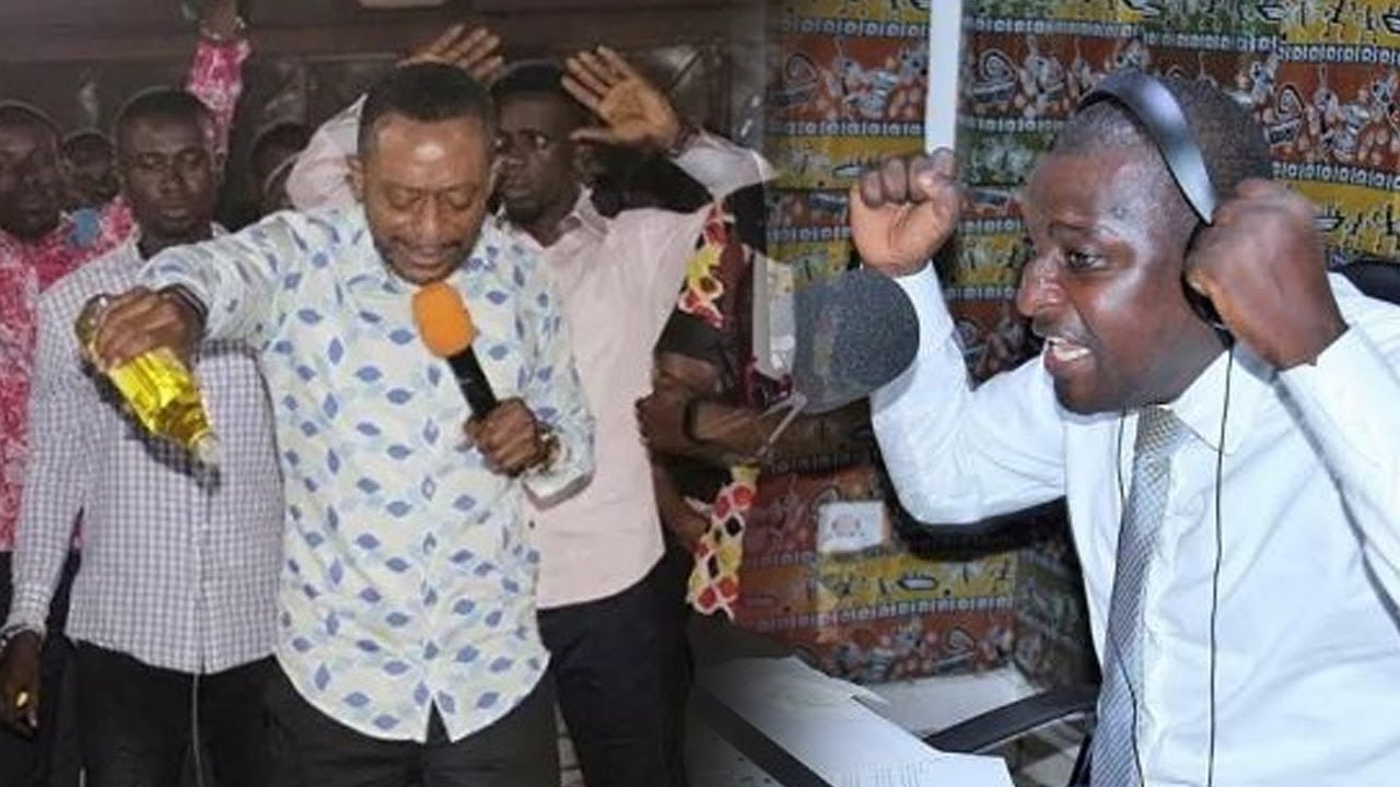 Rev. Dr. Isaac Owusu Bempah And Radio Presenter Mugabe Salifu Maase