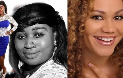 Gospel Singer & Nurse Leticia QueenLet (Left) And Ghanaian Actress Nadia Buari (Right)