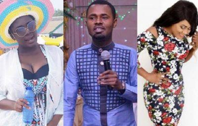 Kumawood Actress Gladys Mensah Boaku (Nayas), Gospel Singer Ernest Opoku And Actress Tracey Boakye