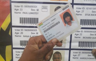 Ghana EC to compile new voters' register for 2020 elections