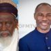 Ghana's National Chief Imam Dr. Sheikh Osmanu Nuhu Sharubutu And Prophet Emmanuel Badu Kobi (Right)