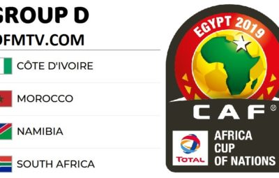 AFCON 2019 Egypt Group D - Matches, Top Teams, Kick-Off Times, Standings, Fixtures, Venues And Results
