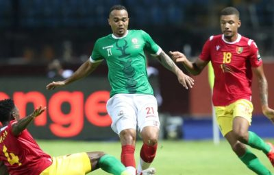 Historical point for Madagascar as they hold Guinea at AFCON 2019.
