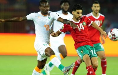 Morocco vs Cotȇ D'Ivore [1:0] Full Highlights And Goals At Egypt AFCON 2019, Morocco down Cote d'Ivoire into last 16.