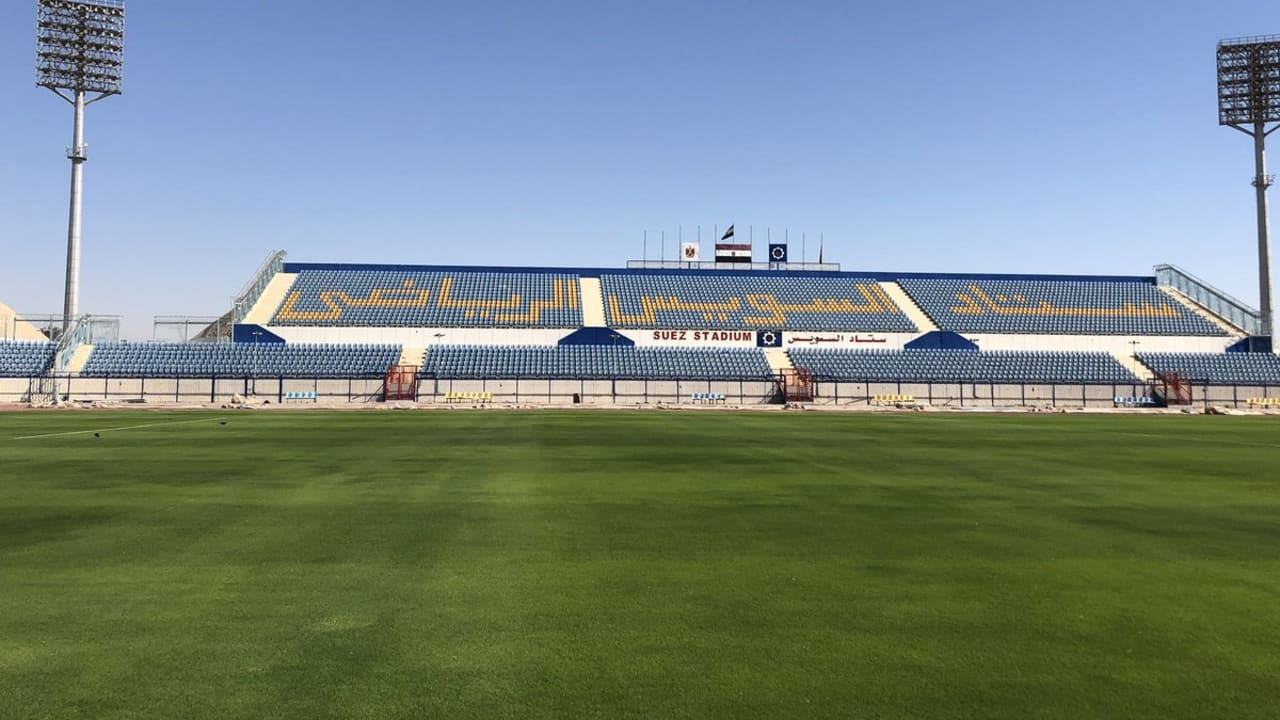 Suez Stadium For AFCON 2019 - Egypt