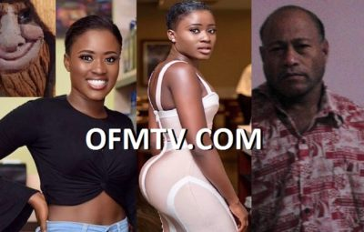 Ghanaian Actress Fella Makafui And Ex-Witch doctor, Now Evangelist Tiim Tetoa from Betio