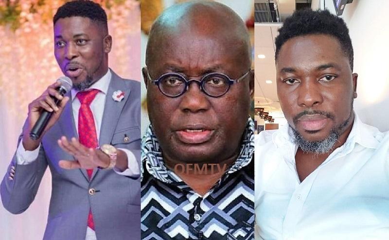 Kwame A-Plus And President of Ghana Nana Addo Dankwa Akufo-Addo