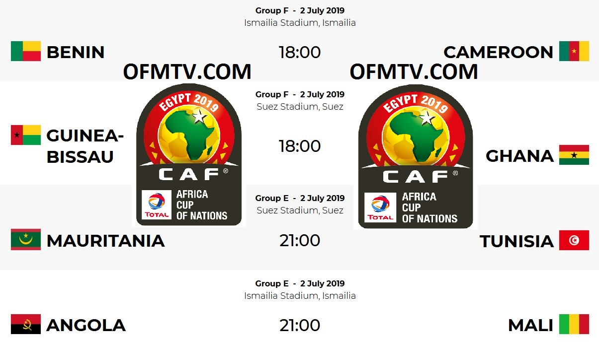 AFCON 2019 Egypt Top Teams, Group E & Group F Matches, Fixtures, Kick-Off Times, Standings, Where To Watch AFCON 2019 TV Live, Results etc.