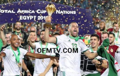 Algeria win the Africa Cup of Nations! Baghdad Bounedjah goal seals 1-0 AFCON 2019 Final win over Senegal