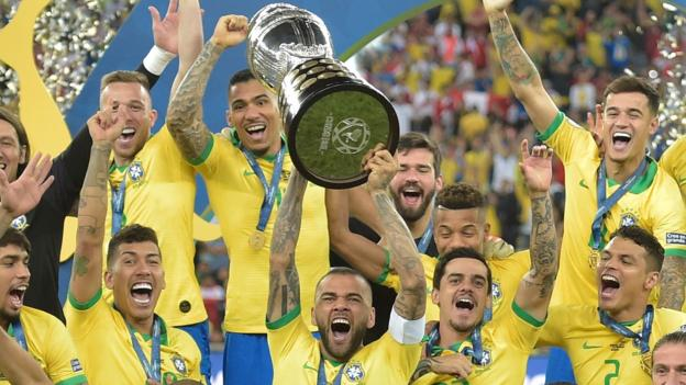 This was Brazil's ninth Copa America title