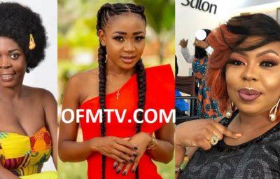 Joyce Dzidzor Mensah, Akuapem Poloo and Afia Schwarzenegger
