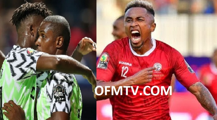 Africa cup of Nations 2019, Madagascar shock Nigeria to finish top of Group B