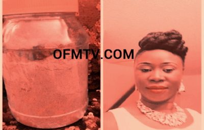 Nana Konadu Berima Tweneboa Kodua With 'Eta' - stomach gas herbal medication