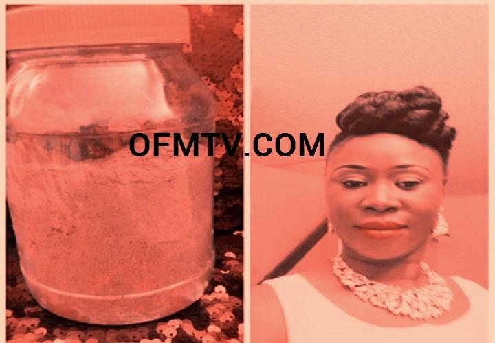 Nana Konadu Berima Tweneboa Kodua With 'Eta' - stomach gas herbal medication
