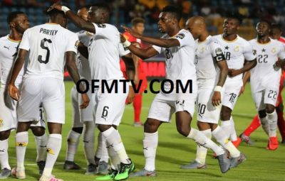 AFCON 2019, Ghana down Guinea Bissau to top Group F