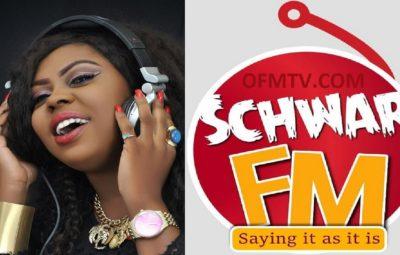 Valentina Nana Agyeiwaa - Also Know As Queen Afia Schwarzenegger - CEO of Schwar FM