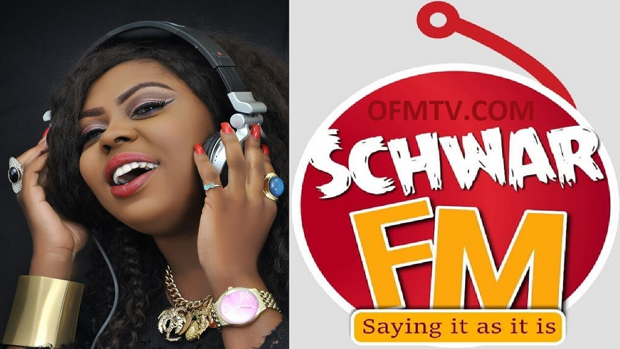 Valentina Nana Agyeiwaa - Also Know As Queen Afia Schwarzenegger - CEO of Schwar FM