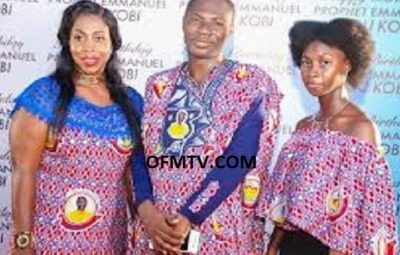 Prophet Emmanuel Badu Kobi And His Family