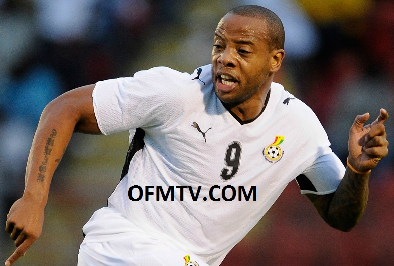 Ex-Ghana striker Junior Agogo is reported dead