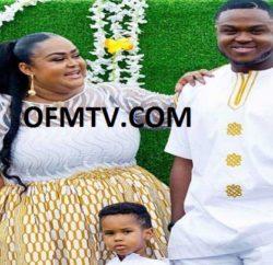 Vivian Jill and her two sons, Clinton Prempeh and Alfie Nana Amponsah Okobeng