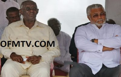 Former Presidents J.A Kufuor and J.J Rawlings