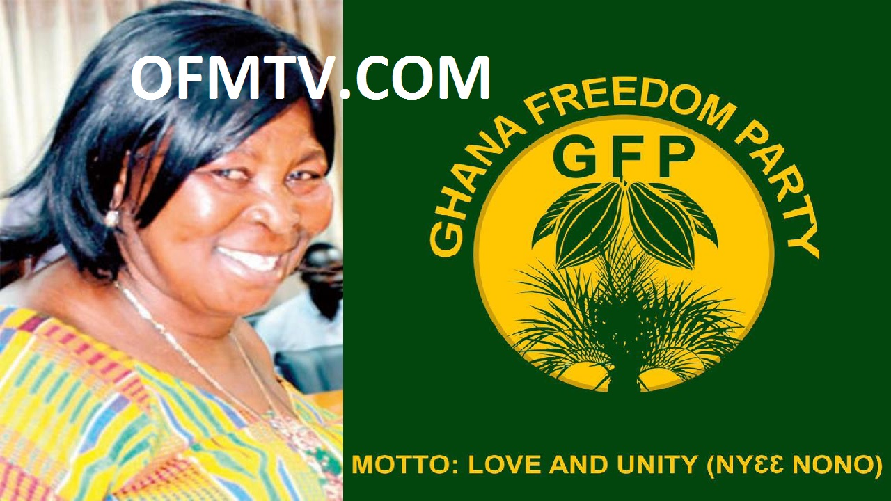 Madam Akua Donkor - founder and leader of the Ghana Freedom Party (GFP)