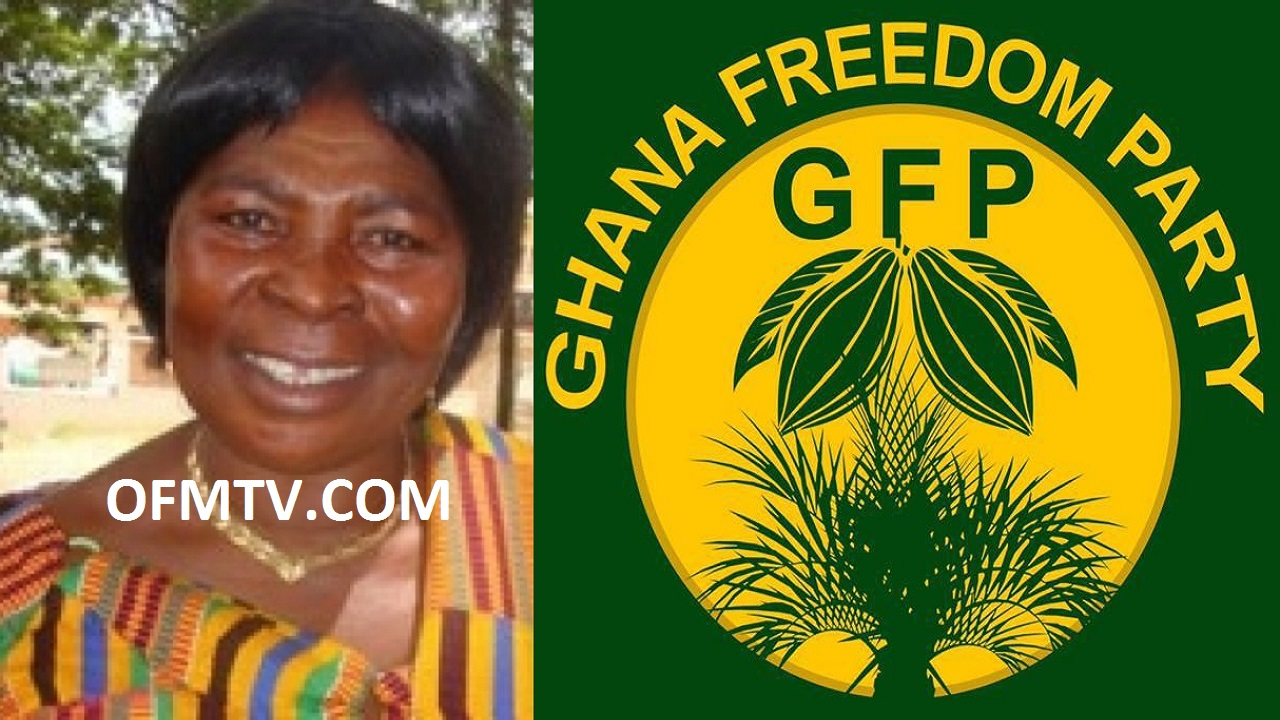 Madam Akua Donkor - Leader Of Ghana Freedom Party.
