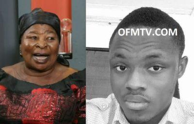 Madam Akua Donkor - Leader Of Ghana Freedom Party & Emmanuel Abankwah Kesse (aka Olumanba)