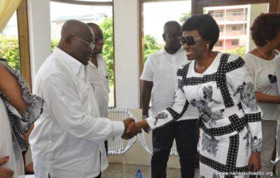 Former First Lady Nana Konadu Agyeman-Rawlings And President Nana Addo Dankwa Akufo-Addo