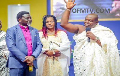 Bishop Charles Agyinasare Stands As Togbuiga Amenya Fiti V testifies