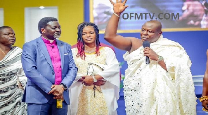 Bishop Charles Agyinasare Stands As Togbuiga Amenya Fiti V testifies