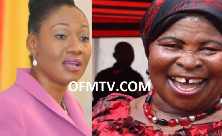 Jean Mensah - Electoral Commission of Ghana Boss And Madam Akua Donkor - Ghana Freedom Party Leader