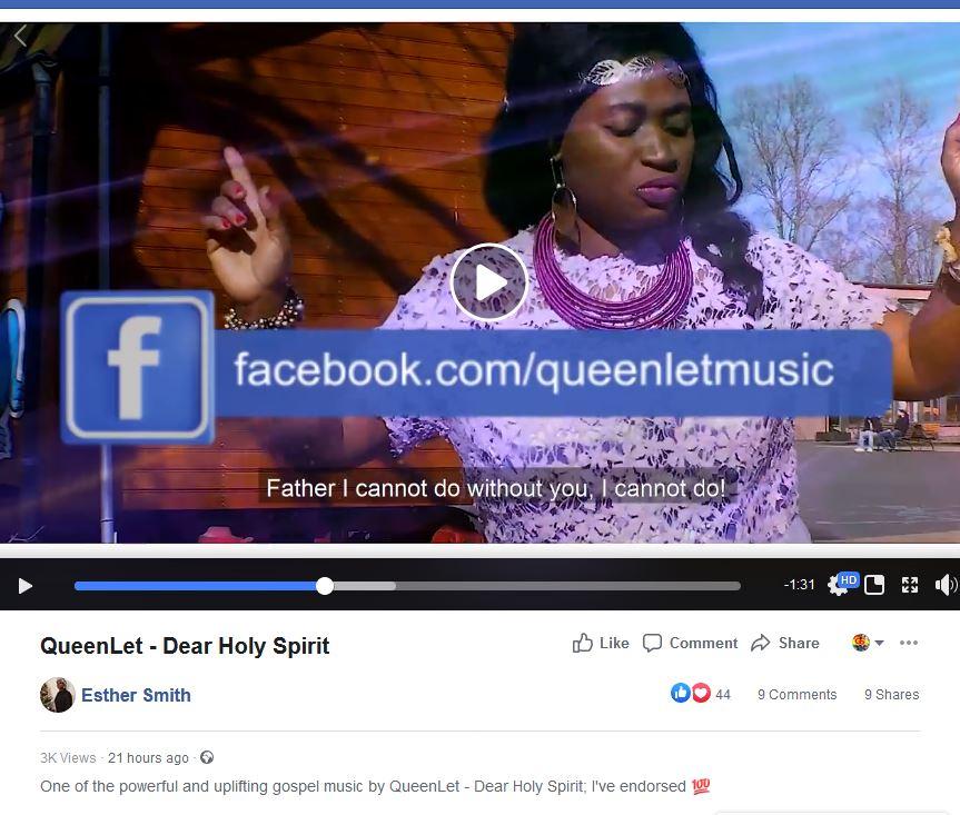 Ghanaian Legend, Gospel Diva Esther Smith Has Endorsed QueenLet