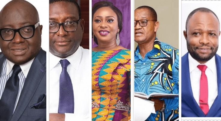 New Patriotic Party (NPP) MPs