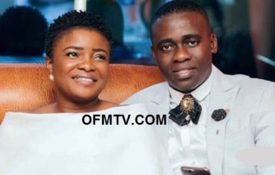 Ghanaian Gospel Star Ohemaa Mercy with her husband Isaac Twum-Ampofo (manager)