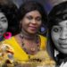 Rev Dr Mary Ghansah, Queen Esther Smith and QueenLet