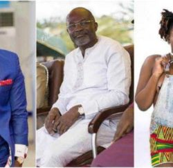 Prophet Nigel Gaisie, Hon Kennedy Agyapong and late Ebony Reigns