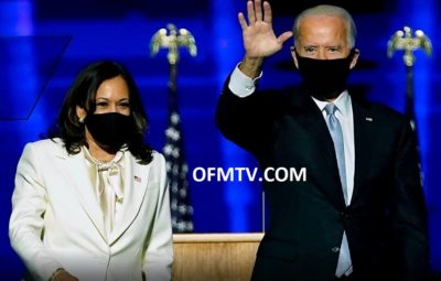 USA Vice President-Elect Kamala Harris And President-Elect Joe Biden