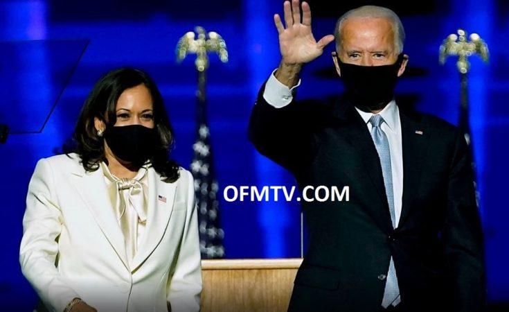 USA Vice President-Elect Kamala Harris And President-Elect Joe Biden