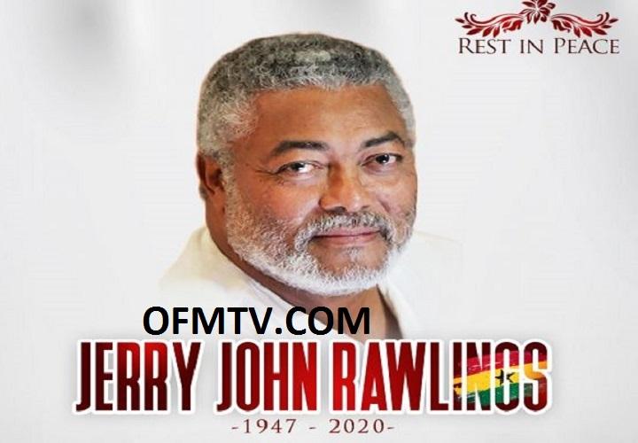 Ex-president Jerry John Rawlings